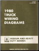 1980 GM Truck wiring Diagrams for Medium and Heavy Duty Models (SKU: X8039)