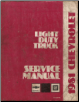 1981 Chevrolet Light Duty Truck 10-20-30 Series Factory Service Manual (SKU: ST33081)