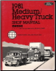 1981 Ford Medium/Heavy Truck Shop Manual - Engine (SKU: FPS36532681B2)