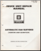 1981 GM Truck Unit Repair Manual - Automatic Fan Clutches (SKU: X6K02A)