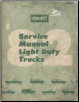 1982 GMC Factory Service Manual Light Duty Trucks (SKU: X8232)