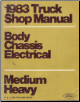 1983 Ford Medium/Heavy Truck Shop Manual F-, B-, C-, 600 Through 8000 Series - Body, Chassis & Electrical Volume D (SKU: FPS36532683D)