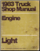 1983 Ford Light Truck Shop Manual - Engine, Volume B (SKU: FPS36532683B)