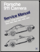 1984 - 1989 Porsche 911 Carrera Service Manual (SKU: BENTLEY-P989)