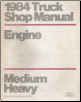1984 Ford Medium/Heavy Truck Shop Manual - Engine Volume E (SKU: FPS36532684E)