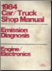 1984 Ford Car/Truck Shop Manual- Emissions Diagnosis, Engine Electronics (SKU: FPS36512632684HL)