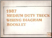 1987 Chevrolet / GMC Medium Duty Truck Wiring Diagram Booklet (SKU: ST35287)