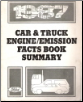 1987 Ford Car/Truck Engine & Emission Facts Book Summary (SKU: FPS1209687)