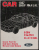 1987 Lincoln Town Car, Ford Crown Victoria & Mercury Grand Marquis Shop Manual - Body, Chassis & Electrical (SKU: FPS1210087A)