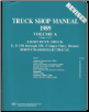 1989 Ford Econoline, F-150 thru 350, F-Super Duty & Bronco Body / Chassis / Electrical  & Engine Factory Service Manual (Reproduction) - 3 Volume Set (SKU: BISH-1960)