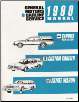 1990 Chevrolet Caprice (Sedan & Wagon), Buick Estate Wagon & Oldsmobile Custom Cruiser Factory Service Manual (SKU: ST32990)