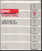 1990 Pontiac Le Mans Factory Service Manual (SKU: S9010T)