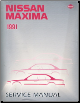 1991 Nissan Maxima Factory Service Manual (SKU: 0J30U0)