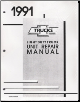 1991 Chevrolet Light Duty Truck Unit Repair Manual (SKU: ST33391)