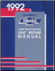 1992 Chevrolet Light Duty Truck Unit Repair Manual (SKU: ST33392)