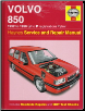 1992 - 1996 Volvo 850 Haynes Repair Manual (J to P registration) (SKU: 1859602606)