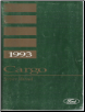 1993 Ford Cargo Service Manual (SKU: FPS1205693)