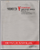 1993 Pontiac Grand Prix Service Manual - 2 Volume Set (SKU: S9310W1-2)