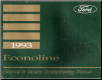 1993 Ford Econoline & Club Wagon - Electrical and Vacuum Troubleshooting Manual (SKU: FPS1212893)