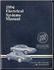 1994 Buick Park Avenue, LeSabre Electrical Systems Manual (SKU: 1994BuickElectrical)