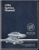 1994 Buick Park Avenue and LeSabre Factory Service Manual (SKU: 94BUICKCH)