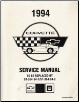 1994 Chevrolet Corvette Preliminary Factory Service Manual (SKU: ST36494PSID)