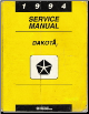 1994 Dodge Dakota Service Manual (SKU: 813704110)