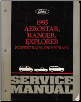 1995 Ford Aerostar, Ranger & Explorer Factory Service Manual - 2 Volume Set (SKU: FCS12199951-2)
