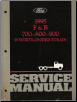 1995 Ford F&B 700-800-900 Powertrain & Drivetrain Service Manual (SKU: FCS12109952)