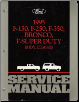 1995 Ford Bronco F150, F250, F350 & F-Super Duty Service Manual, 2 Volume Set (SKU: FCS1210795)