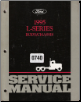 1995 Ford L-Series Truck Factory Service Manual - 2 Volume Set (SKU: FCS12111951)