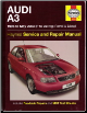 1996 - 2003 Audi A3 Haynes Repair Manual (SKU: 1844252531)