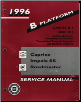 1996 Chevrolet Caprice, Impala, Belair and Buick Roadmaster Factory Shop Manual (SKU: GMP96B)