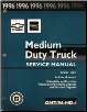 1996 Chevrolet, GMC Medium Duty Truck Service Manual - 2 Volume Set (SKU: GMT96MD1-2-3)