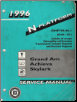 1996 Pontiac Grand Am, Oldsmobile Achieva & Buick Skylark (N Platform) Service Manual - 2 Volume Set (SKU: GMP96-N-1-2)