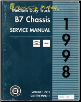 1998 Chevrolet, GMC Medium Duty B7-Chassis Service Manual - 3 Volume Set (SKU: GMT98MDB71-2-3)