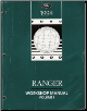 1998 Ford Ranger Factory Service Manual - 2 Volume Set (SKU: FCS1254298-1-2)