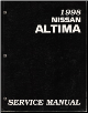 1998 Nissan Altima Factory Service Manual (SKU: SM8E0L30U0)