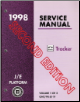 1998 Chevrolet Geo Tracker Factory Service Manual (SKU: GMT98JE-1-2-3F)