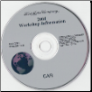 2001 Model Year Ford, Lincoln & Mercury  Cars Factory Workshop Information CD-ROM (SKU: FCS1255101C10)