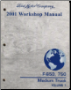 2001 Ford Medium Truck F-650 & F-750 Workshop Manual - 2 Volume Set (SKU: FCS1286401-1-2)