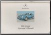 2001 Mercedes-Benz CLK Coupe Owner's Manual (SKU: 2085848583)