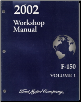 2002 Ford F150 Factory Shop Manual - 2 Volume Set (SKU: FCS1227202)