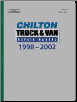 1998 - 2002 Chilton's Truck & Van Repair Manual (SKU: 0801993644)