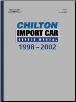 1998 - 2002 Chilton's Import Auto Repair Manual (SKU: 0801993636)