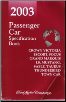 2003 Ford / Lincoln / Mercury Passenger Car Specification Book (SKU: FCS1213903)