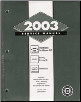 2003 Chevrolet Trailblazer, GMC Envoy & Oldsmobile Bravada Factory Service Manual (SKU: GMT03STNS)