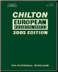 2005 Chilton's European Mechanical Service Manual (2001 - 2004 Year coverage) (SKU: 1401867200)
