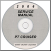 2006 Chrysler PT Cruiser Service Manual- CD Rom (SKU: 8137006061CD)