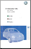 2006 Volkswagen New Beetle Owner's Manual (SKU: 2006NewBeetle)